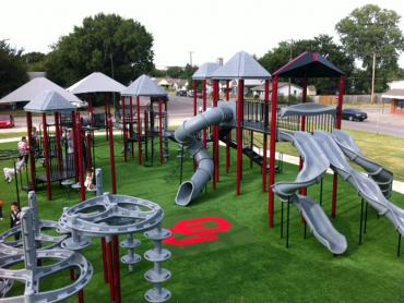 Artificial Grass Photos: Artificial Grass Installation Wainaku, Hawaii Playground Turf, Parks