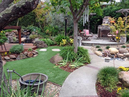 Artificial Grass Photos: Best Artificial Grass Laupahoehoe, Hawaii Design Ideas, Beautiful Backyards