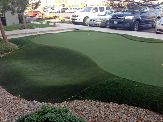Artificial Grass Photos: Grass Turf Kahaluu-Keauhou, Hawaii Outdoor Putting Green, Commercial Landscape