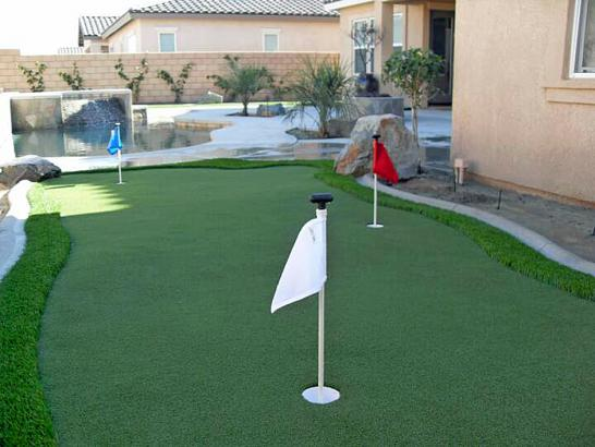 Artificial Grass Photos: Synthetic Grass Cost Po'ipu, Hawaii Putting Green Flags, Backyard Design